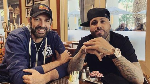 Nicky Jam saludó a Juan Luis Guerra por su cumpleaños