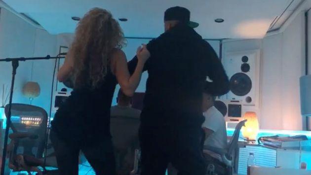 Nicky Jam y Shakira bailando y todos los detalles de cómo se creó 'Pierro fiel' [VIDEO]