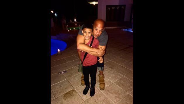 ¡Nicky Jam y Vin Diesel se preparan para recibir el 2017! [FOTOS Y VIDEOS]