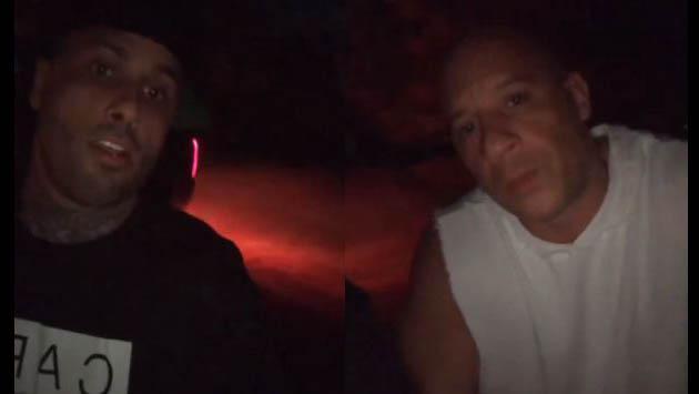 ¿En qué andaban Nicky Jam y Vin Diesel de madrugada? [VIDEO]