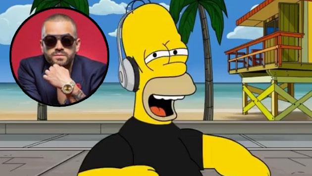No te pierdas a Homero Simpson cantando 'Happy Happy', de Nacho [VIDEO]