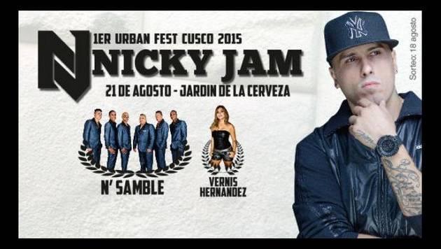 ¡Aquí los ganadores para Nicky Jam en Cusco!