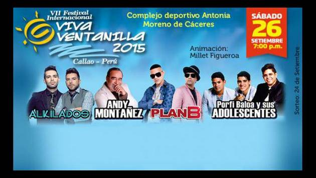 ¡Gana entradas para el VII Festival Internacional 'Viva Ventanilla' 2015!