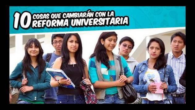 10 cosas que cambiarán con la Reforma Universitaria (II)
