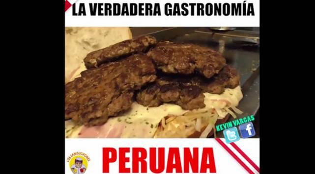¡Tremenda hamburguesa! Y la encuentras en Perú