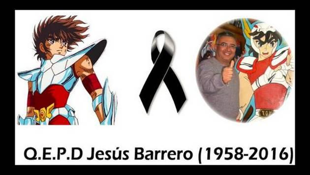 Murió Jesús Barrero, el actor mexicano que dio su voz a 'Seiya'