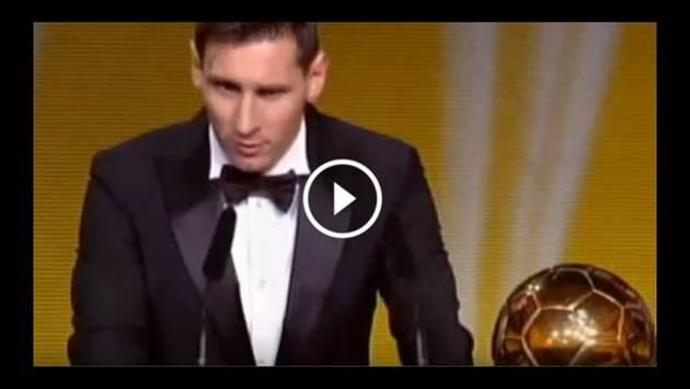 Lionel Messi es el ganador del Balón de Oro 2015