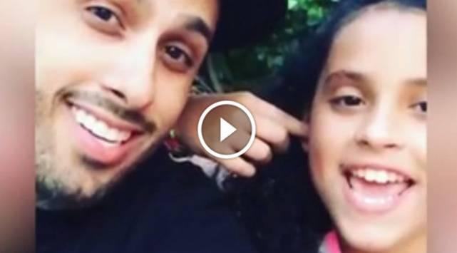 Nicky Jam y su hija cantan juntos 'Hasta el amanecer' en este video