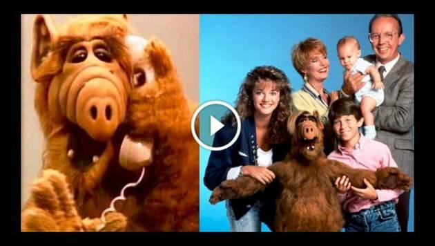 Descubre quién se escondía en el cuerpo del extraterrestre 'Alf'