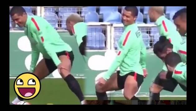 Cristiano Ronaldo alborota Instagram con este baile sensual