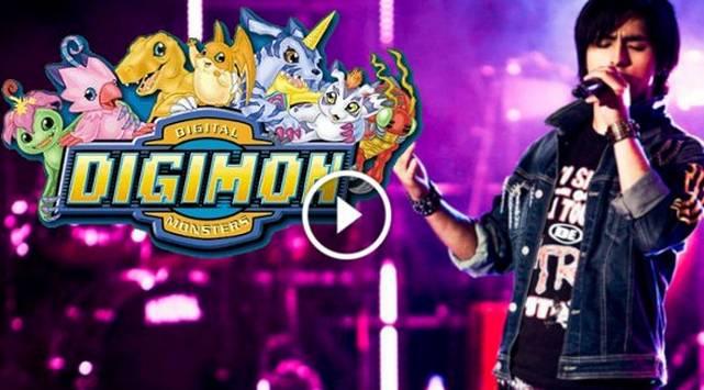 Jefferson Tadeo cantó tema de 'Digimon'