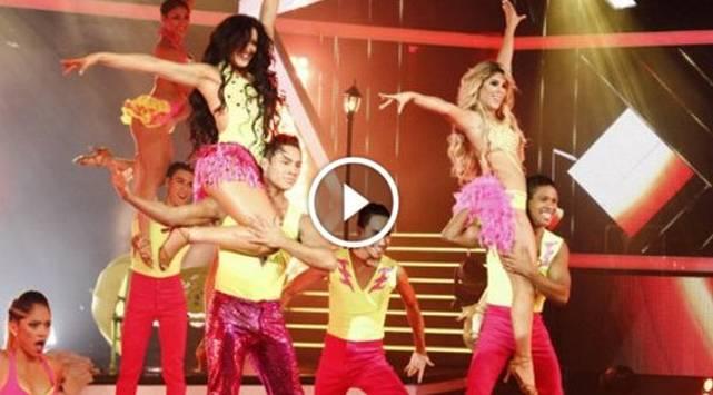 Con este baile sensual Yahaira Plasencia triunfó en Reyes del Show