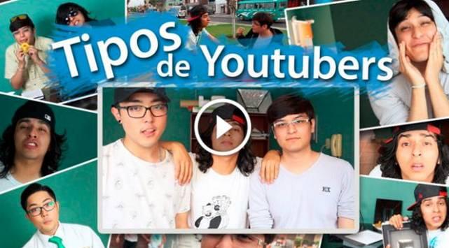 Conoce a los tipos de youtubers