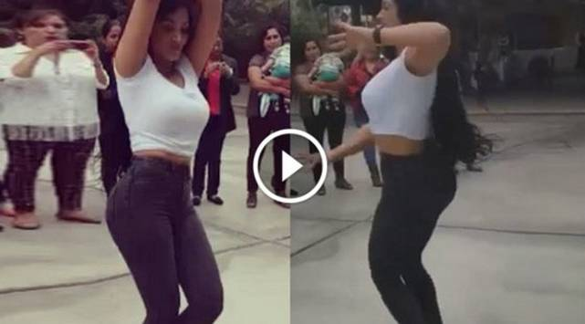 Michelle Soifer se lució bailando salsa