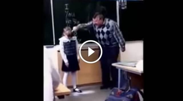Profesor maltrató a alumna y jamás imaginó que le daría su merecido