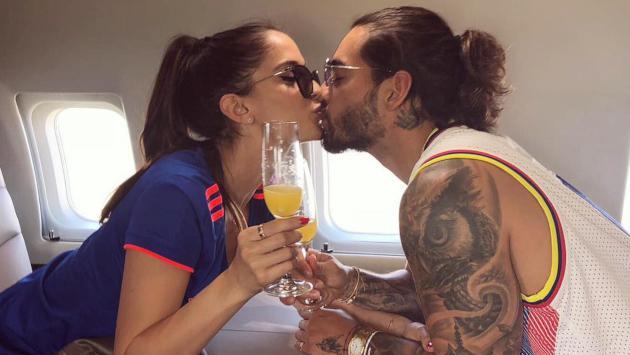 Novia de Maluma revela cómo es su relación en privado