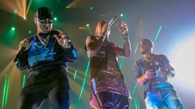 Ozuna reunió a Romeo Santos, Nicky Jam y Manuel Turizo en Puerto Rico
