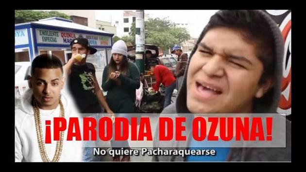 ¡Vacílate con la parodia de Ozuna, 'No quiere pacharaquearse'!