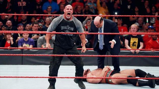 Para WWE, Goldberg es lo mejor para los negocios y estas cifras lo demuestran