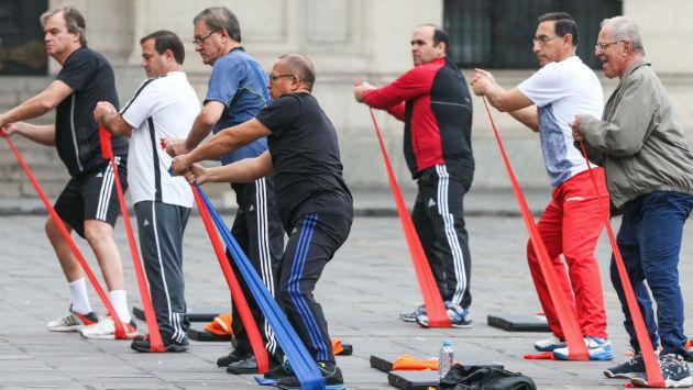 Ríete con la parodia de JB de los ejercicios en Palacio