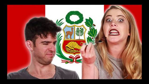 YouTube: americanos prueban comida peruana