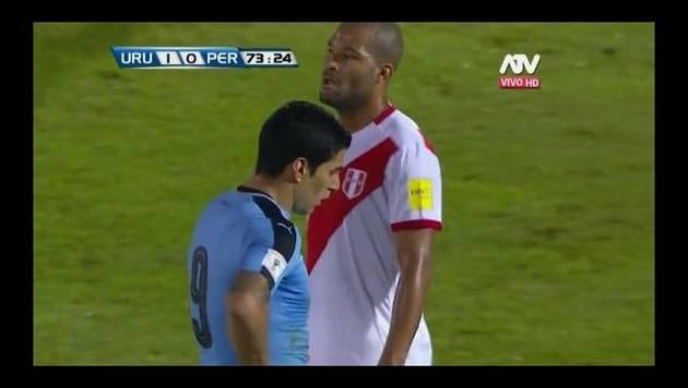 Uruguay derrotó 1-0 a Perú y lo dejó rezagado en la eliminatoria Rusia 2018