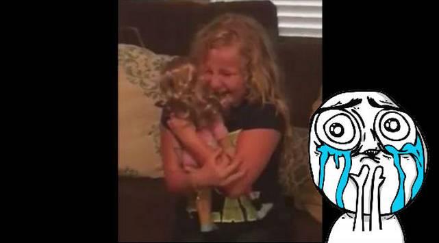 Esta niña recibió una muñeca con un detalle muy especial ¡Su reacción te conmoverá!