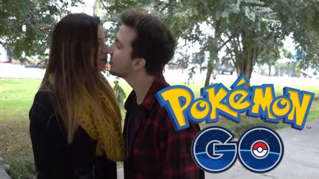 Gracias a Pokémon GO le robó un beso a una chica, ¿cómo hizo?