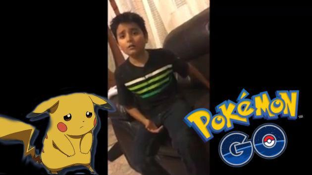¡Se volvió loco! Mira la reacción de este niño al enterarse que le borraron Pokémon GO del celular