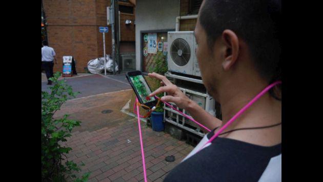 ¿Un invento para jugar Pokémon GO sin manos?