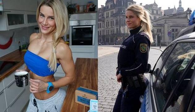 Conoce a la mujer policía más sexy del mundo
