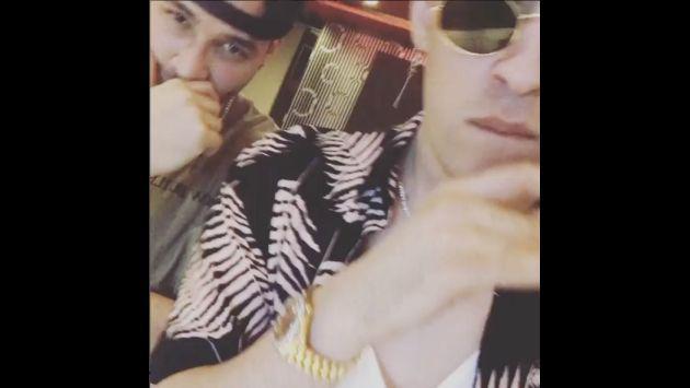 ¿Prince Royce y Bad Bunny preparan tema? Checa este video