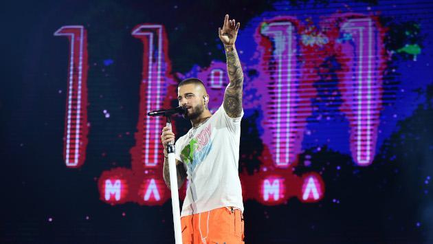 ¿Qué es lo que hace Maluma antes de cada concierto?