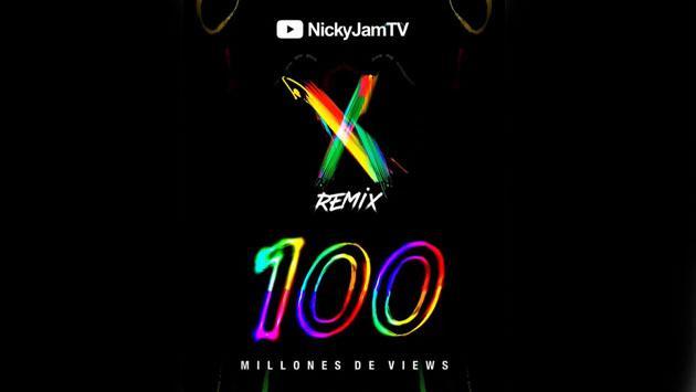 Remix de 'X' alcanzó 100 millones de visitas en YouTube [VIDEO]