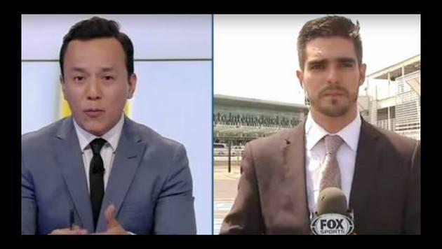 Reportero de Fox Sports es atropellado en vivo