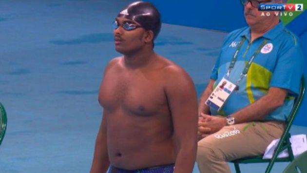 ¡Nadador 'gordito' pasó roche en Río 2016! Y clasificó a las Olimpiadas por...