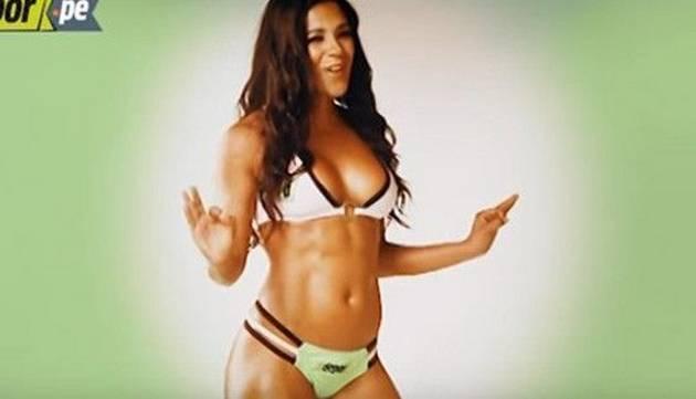 La sexy Rocío Miranda es una de las deportistas más hermosas y te lo demuestra en este video