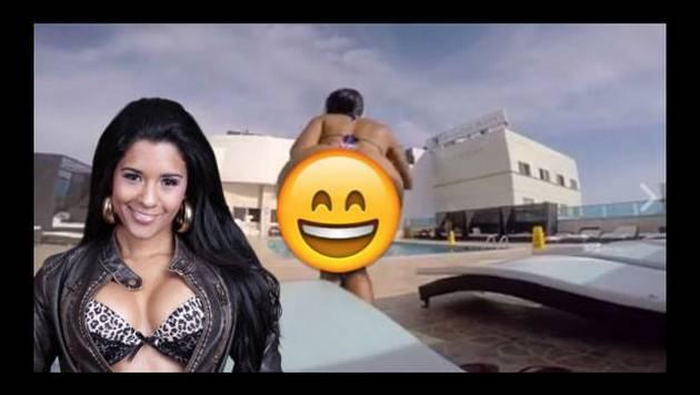 ¡Asuuuuu! Rocío Miranda causa revuelo con este video en piscina