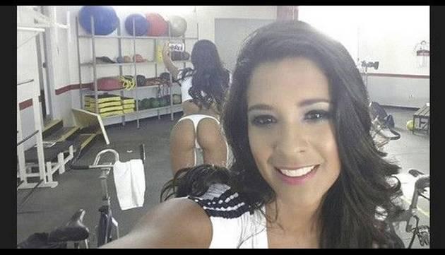 Rocío Miranda y sus sensuales 'belfies'