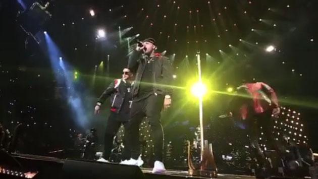 Romeo Santos empezó el 'Golden tour' junto a Daddy Yankee y Nicky Jam [FOTOS Y VIDEOS]