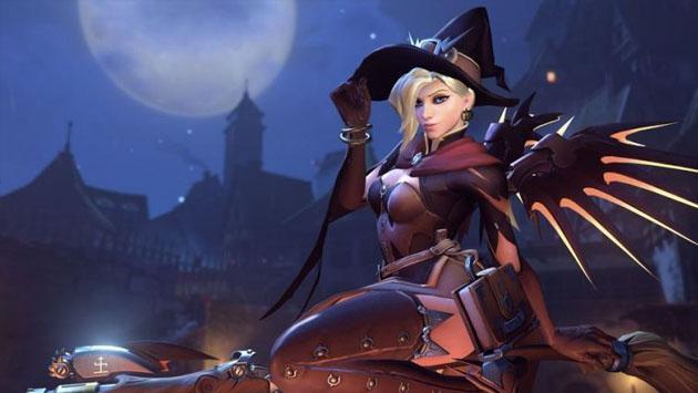 Si te gusta jugar con Mercy en 'Overwatch', esta noticia te encantará