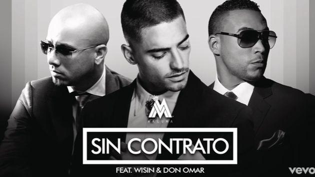 ¿Ya escuchaste el remix de 'Sin contrato' con Don Omar y Wisin?