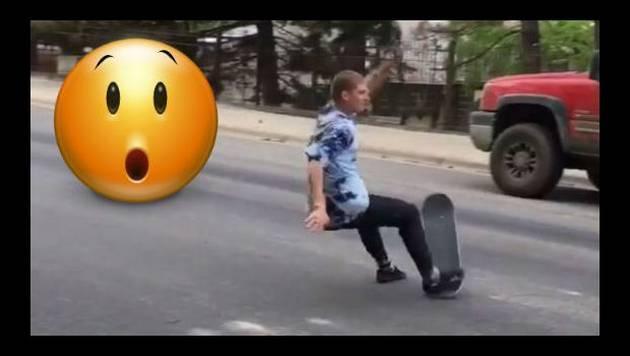 ¿Te gusta montar skate? Jamás imites a este chico