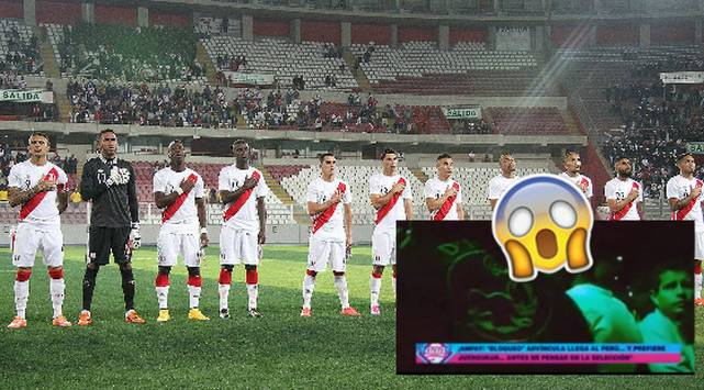 ¡El colmo! Luis Advíncula fue ampayado juergueando previo al Perú vs Venezuela