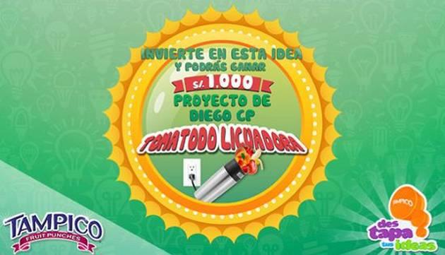 ¡INVIERTE EN ESTE PROYECTO Y GANA 1000 SOLES!
