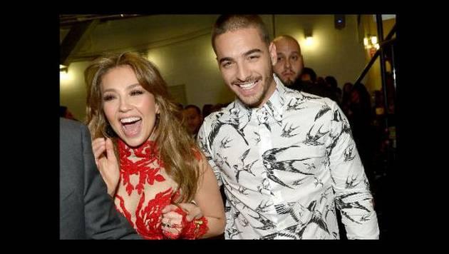 Thalía está furiosa por lo que pasó con video junto a Maluma