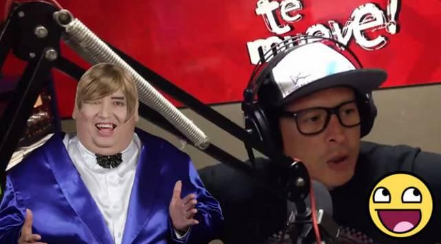 Carloncho imita a Tongo cantando 'Sorry' ¡Vacílate con el video!