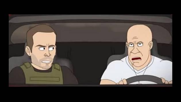 Así serían las acrobacias de Fast & Furious 7 si fueran reales