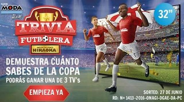¡Conoce si ganaste un Smart TV de 32 pulgadas con la 'TRIVIA FUTBOLERA'!