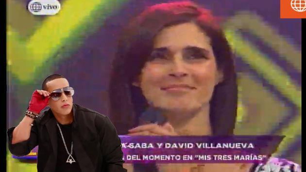 ¡A Vanessa Saba le pidieron que baile reguetón y así reaccionó!